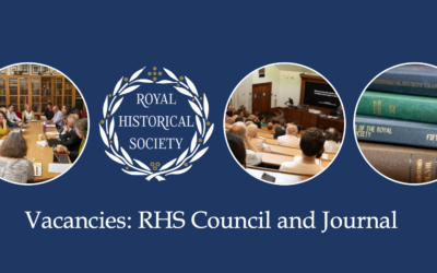 Royal Historical Society invites applications for new governance and journal roles